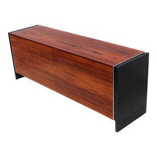 Modernist Rosewood Dresser by Glenn of California For Sale