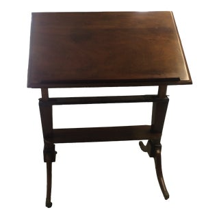 Georgian Mahogany Architect's Table For Sale