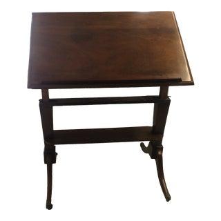 Georgian Mahogany Architect's Table/Book Display For Sale