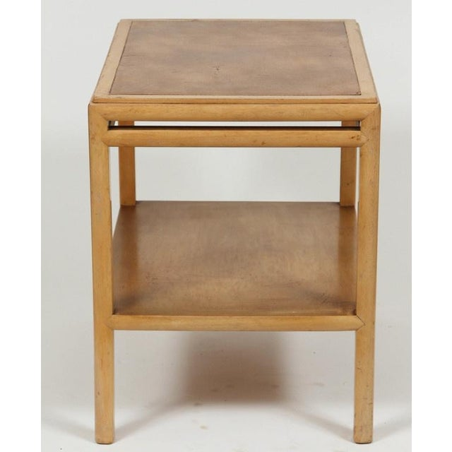Johan Tapp Leather Top Side Table For Sale In Los Angeles - Image 6 of 7