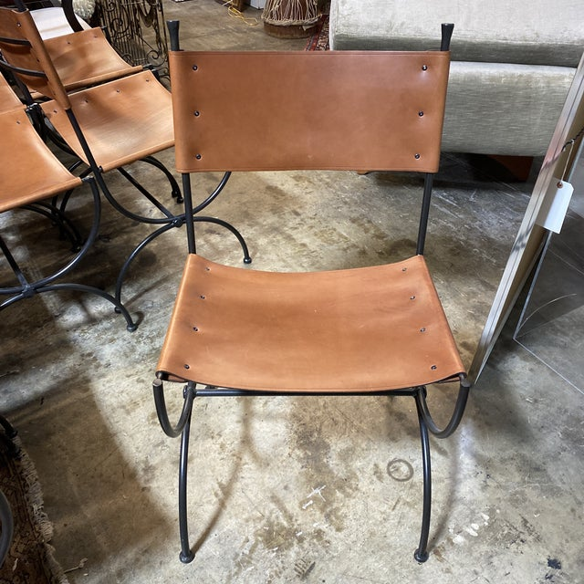Charleston Forge Legacy Iron Dining Chairs -Set/8 For Sale In Richmond - Image 6 of 11