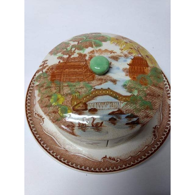 European Porcelain Coffee Service Bowl For Sale - Image 12 of 13