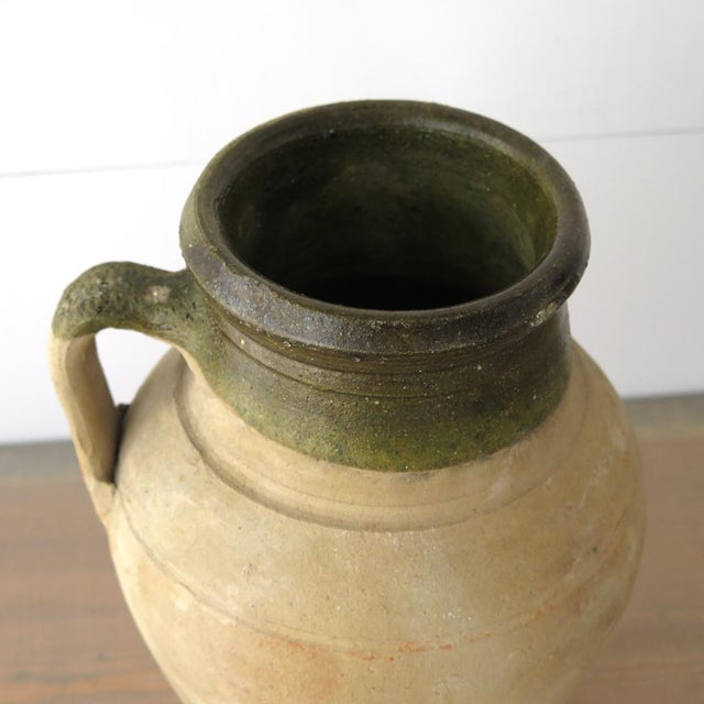 Turkish Clay Olive Jar - Image 4 of 8
