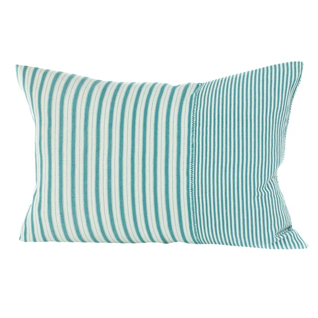 Highlands Striped Pillow Cover in Tulum - Image 1 of 4