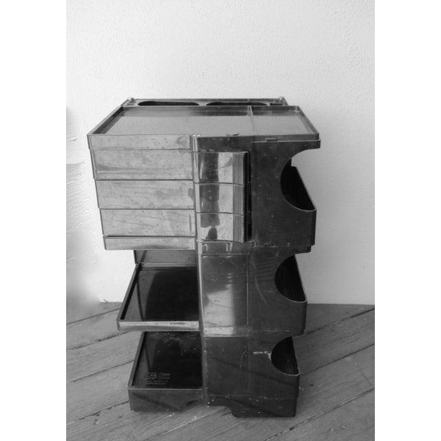 Taboret Mid-Century Modern Black Cart - Image 9 of 10
