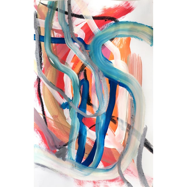2010s Day 88 Original Abstract Paining by Jessalin Beutler For Sale - Image 5 of 5