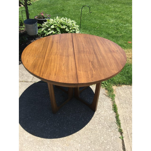 Broyhill Broyhill Emphasis Mid Century Dining Room Table For Sale - Image 4 of 12