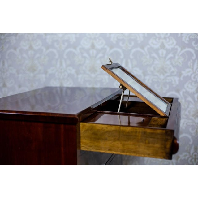 Brown 1860s Biedermeier Dresser-Vanity Table For Sale - Image 8 of 13