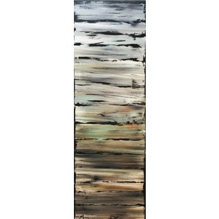 """""""Silver Coast"""" South West Art Original Abstract Acrylic Painting by Tim Hovde For Sale"""