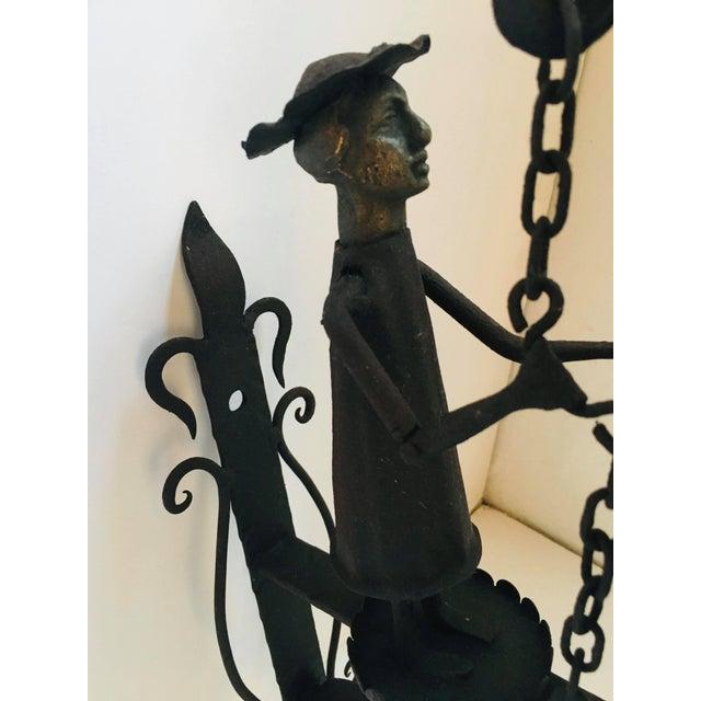 Handmade Figural Door Bell For Sale - Image 4 of 9