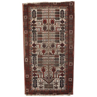 Antique Baluchi Rug - 3′ × 5′4″ For Sale