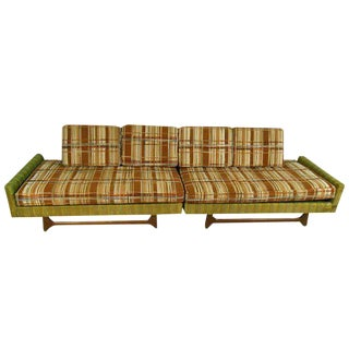 Mid-Century Modern Adrian Pearsall Style Sectional Sofa - a Pair For Sale