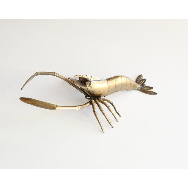 Vintage Brass Lobster - Image 4 of 4