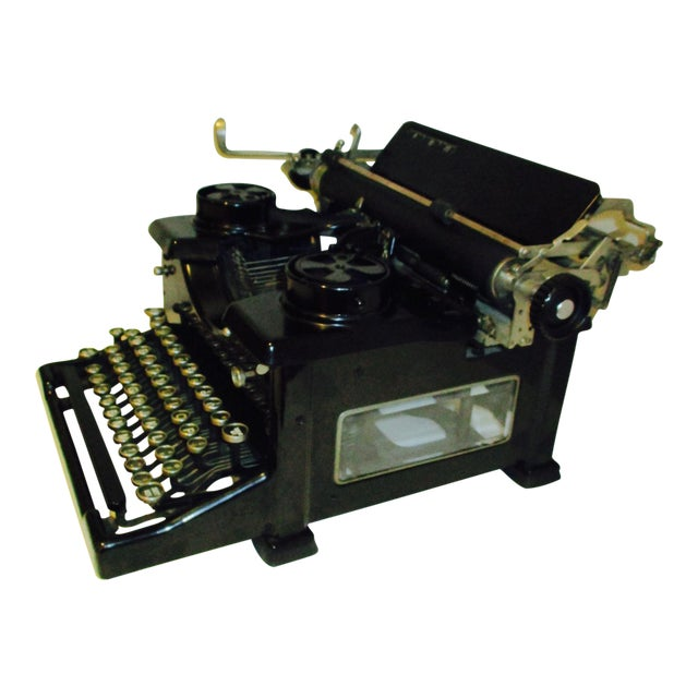 Vintage Royal Typewriter With Glass Side Panels - Image 1 of 11