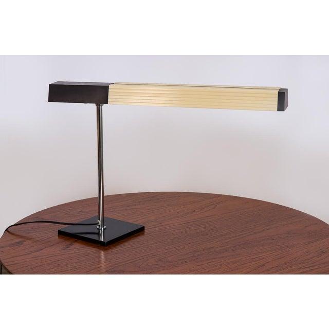 Metal Lightolier Chrome Desk Lamp For Sale - Image 7 of 7