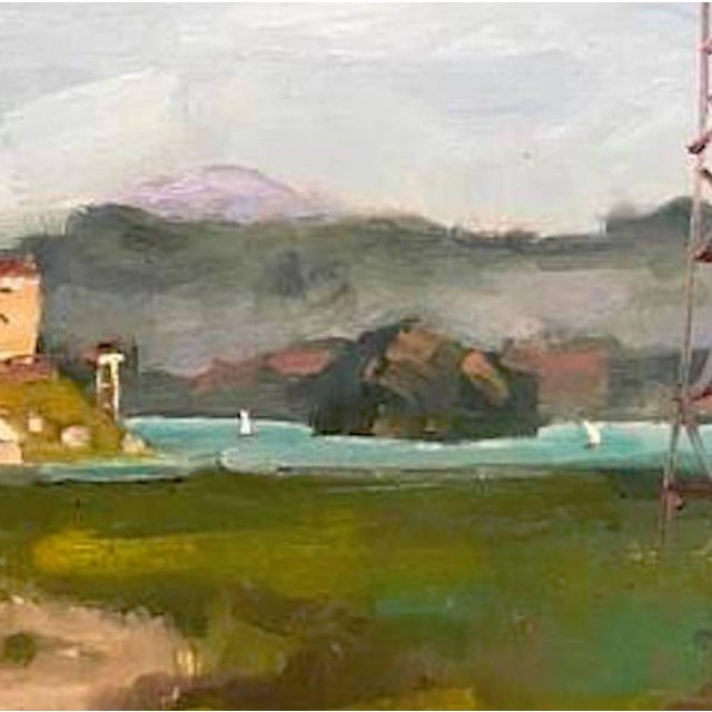 Farmhouse San Quentin Prison Painting For Sale - Image 3 of 10