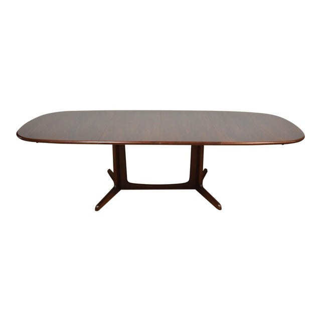 Danish Rosewood Dining Table - Image 1 of 11