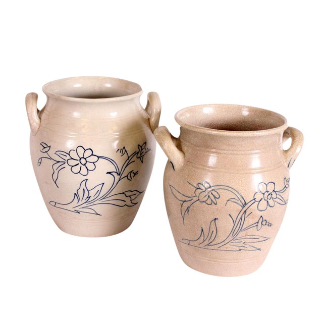 Goteborg Swedish Pottery - A Pair - Image 1 of 3