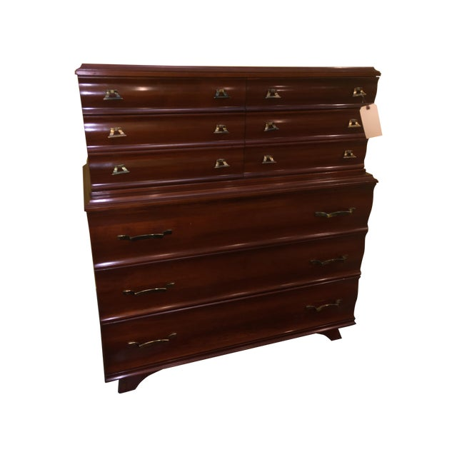 Kling Mid-Century Bedroom Dresser Chest For Sale