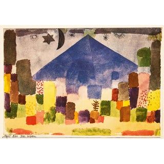 1955 Paul Klee, the Niesen Vintage First Edition Lithograph For Sale