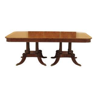 Henredon Figural Mahogany Dining Room Table