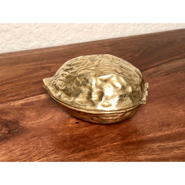 Brass Mid 20th Century Solid Brass Walnut Cracker For Sale - Image 7 of 13