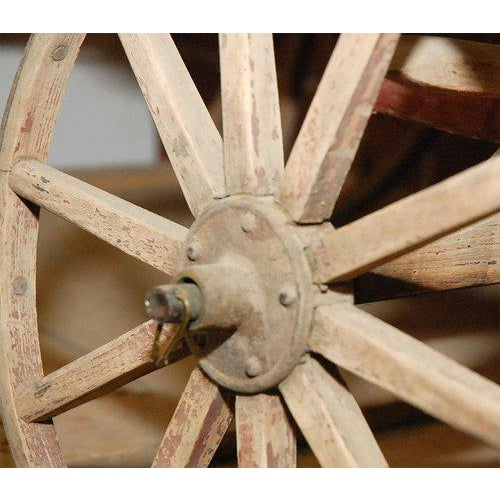 Iron Childs Wagon from New England For Sale - Image 7 of 9