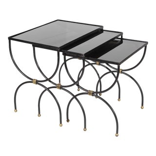 Set of Nesting Tables by Jean Royere For Sale