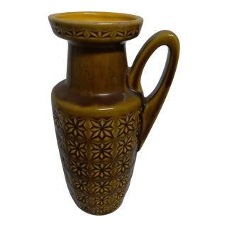 1950s W. Germany Ceramic Pitcher For Sale