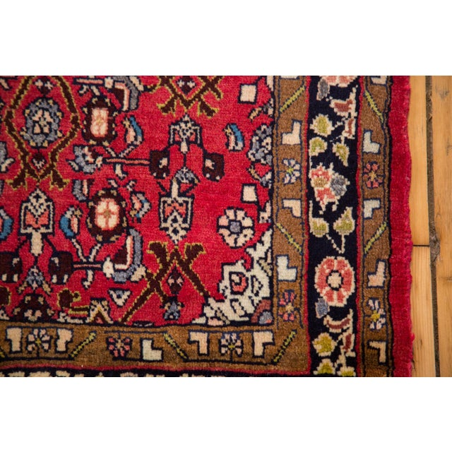 "Vintage Hamadan Rug - 2'4"" X 4' For Sale - Image 4 of 6"