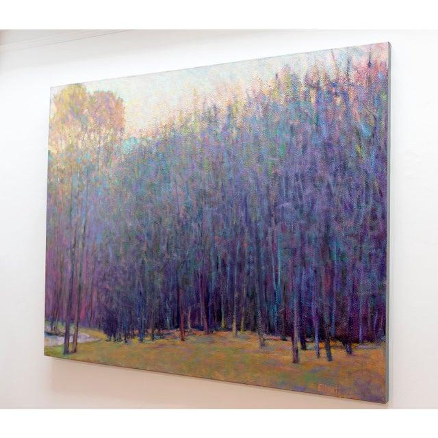 Impressionism Ken Elliott, 'At the Ponds Edge, Emerging Spring' Painting, 2017 For Sale - Image 3 of 7