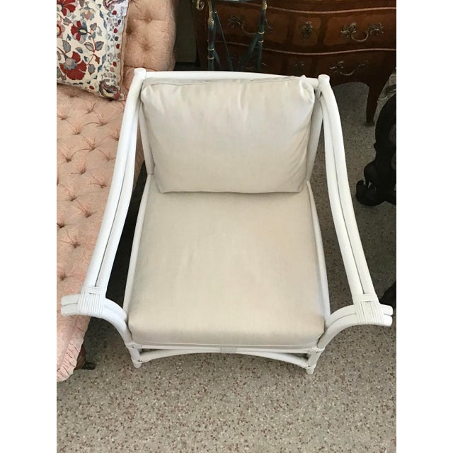 Boho Chic 1960s Vintage Ficks Reed Club Chair For Sale - Image 3 of 8