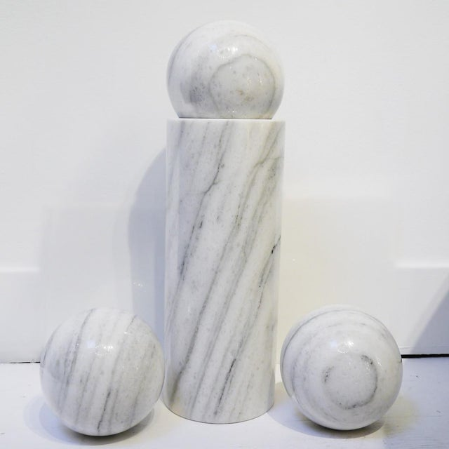 Priape by Man Ray for Alexandre Lolas Gallery. Marble. Made in 1972. 102/500.