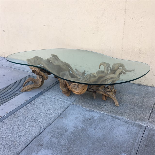 Driftwood Base Coffee Table - Image 9 of 10