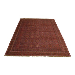 Afghan Tribal Mushwani Kilim Rug For Sale