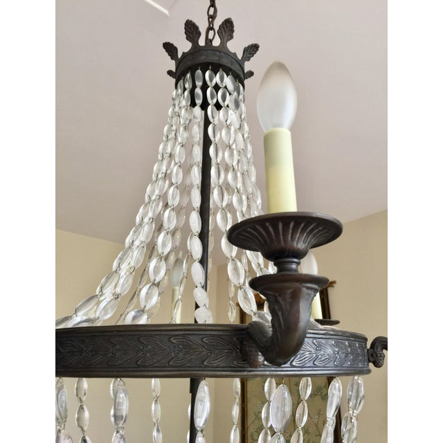 Empire-Style Chandelier - Image 4 of 5