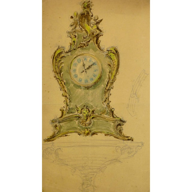 1930s Mantel Clock For Sale - Image 5 of 5