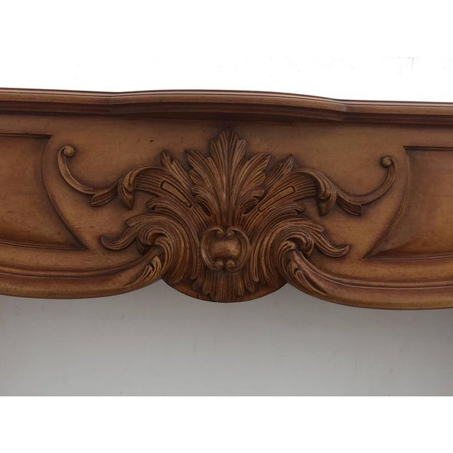 Carved Architectural Fireplace Mantel - Image 4 of 7