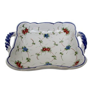 Italian Porcelain Catchall For Sale