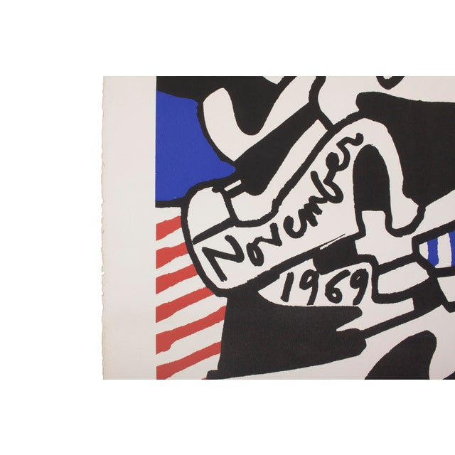 Abstract Jean DuBuffet Original Lithograph - Simulacres Pace Gallery New York For Sale - Image 3 of 10