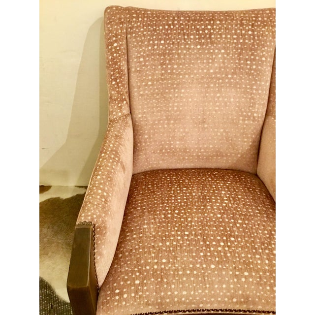 Modern Hickory Chair Co Tate Arm Chair For Sale - Image 3 of 9