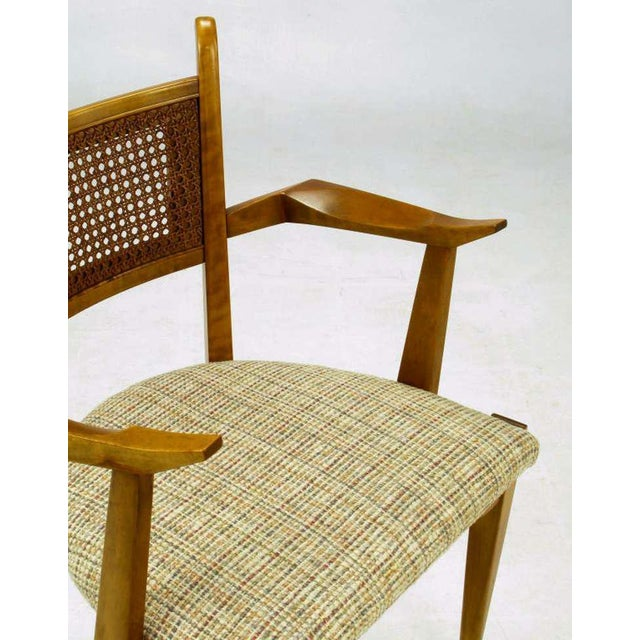 Taupe Set Six Edmond Spence Swedish Dining Chairs For Sale - Image 8 of 11