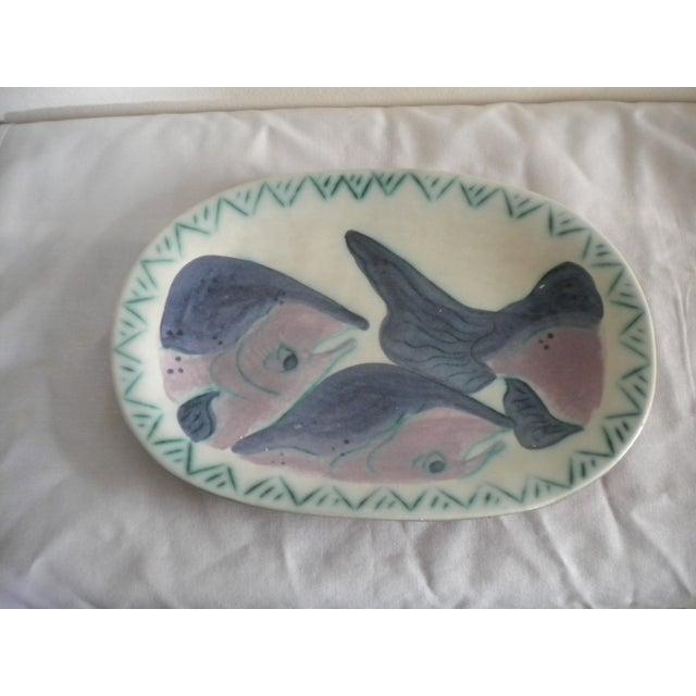 Artisan Salmon Platter by Toni Maury - Image 2 of 4