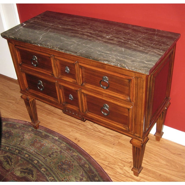 Ethan Allen Tuscany Bonner Console Table - Image 2 of 11