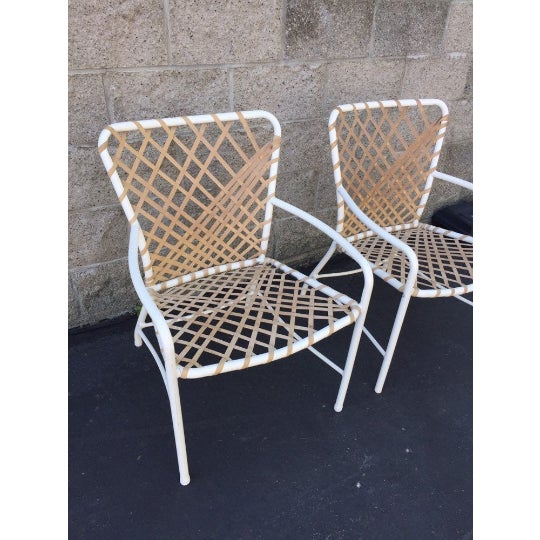 Vintage Brown Jordan Sculptural Tamiami Patio Chairs - a Pair For Sale - Image 6 of 8