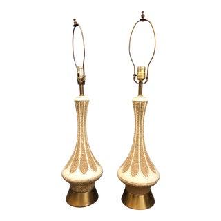 Rare Quartite Creative Corp. Genie Lamps - a Pair