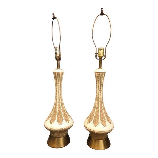 Rare Quartite Creative Corp. Genie Lamps - a Pair For Sale
