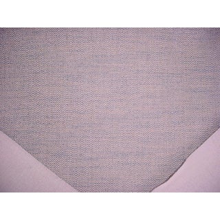 Clarence House Augustus Aqua Textured Linen Upholstery Fabric- 7-1/8 Yards For Sale