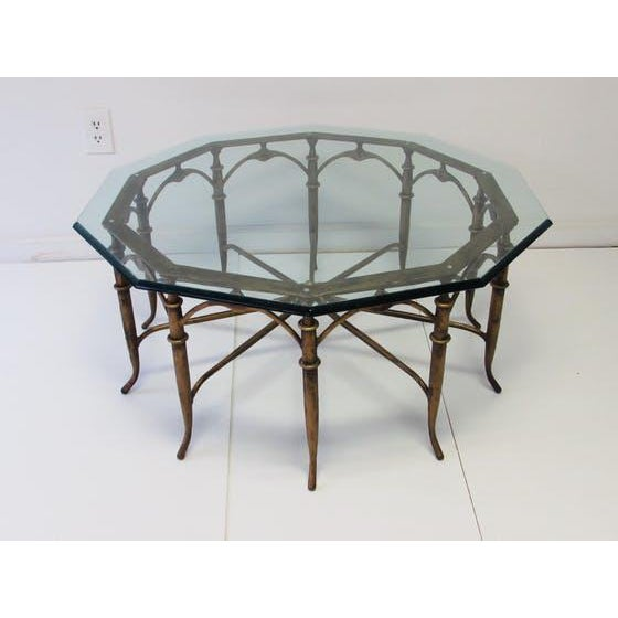 Italian Carlo Di Carli Style Spider Leg Coffee Table - Image 2 of 5