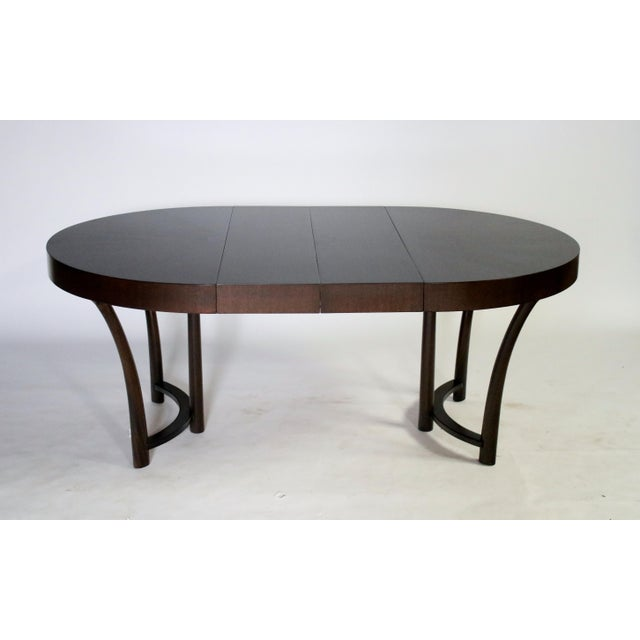 t.h. Robsjohn Gibbings Expandable Dining Table For Sale In Chicago - Image 6 of 9